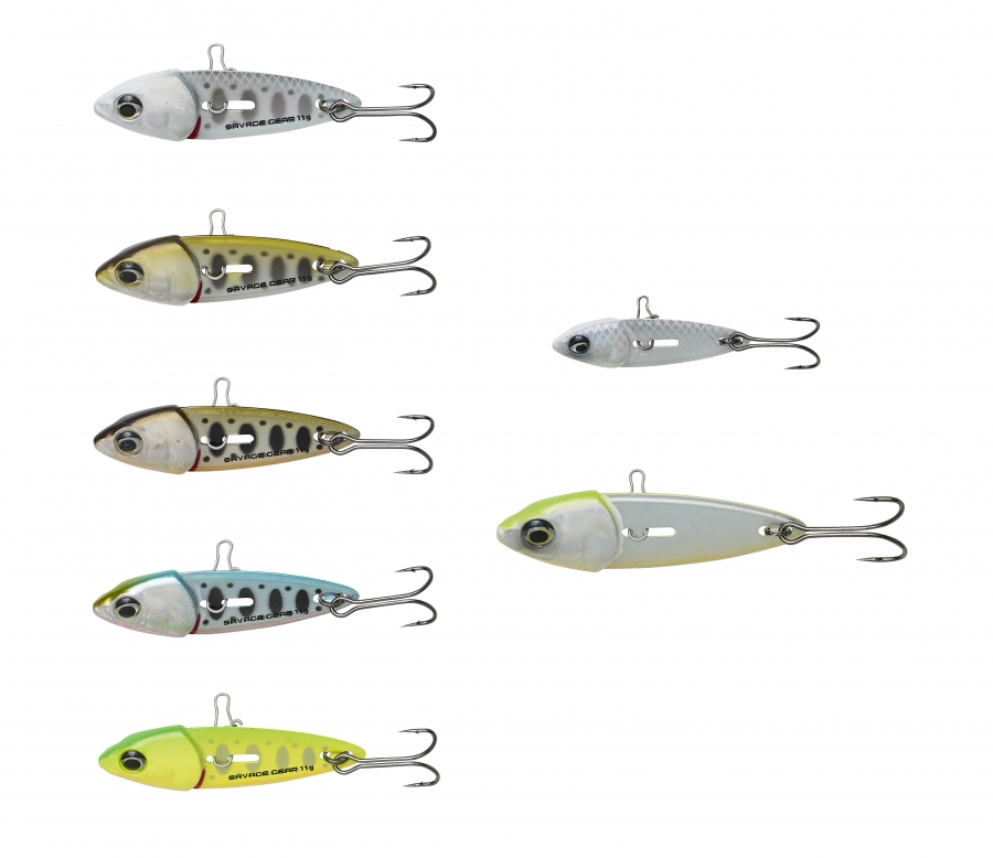 SWITCH BLADE MINNOW 5 cm Green Silver Ayu